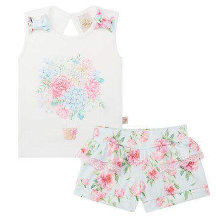 TK5634.FL_A-moda-menina-conjunto-regata-shorts-flowers-time-kids-no-bebefacil-loja-de-roupas-enxoval-e-acessorios-para-bebes