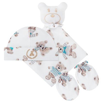 CQ18.042.38_A-enxoval-e-maternidade-bebe-menino-nanninha-touca-para-de-luvas-em-suedine--ursinho-coquelicot-no-bebefacil-loja-de-roupas-enxoval-e-acessorios-para-bebes