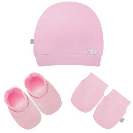 BB0177-E_A1-moda-bebe-menina-acessorios-kit-touca-luva-sapatinho-suedine-rosa-beth-bebe-no-bebefacil-loja-de-roupas-enxoval-e-acessorios-para-bebes