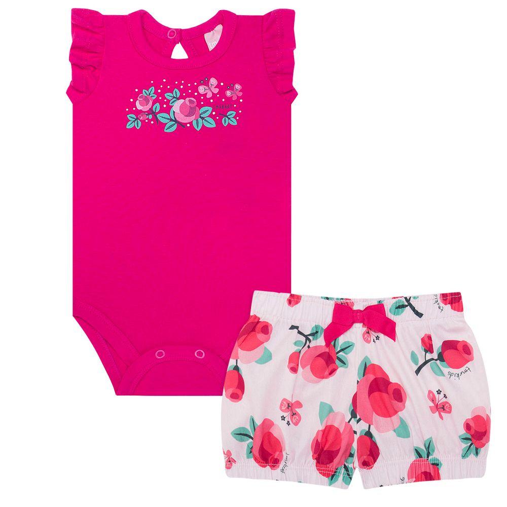 TMX0037-PK_A-moda-bebe-menina-conjunto-body-regata-shorts-pink-roses-tmx-no-bebefacil-loja-de-roupas-enxoval-e-acessorios-para-bebes