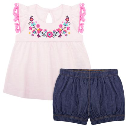 TMX0041-RS_A-moda-bebe-menina-conjunto-bata-shorts-jeans-florzinhas-tmx-no-bebefacil-loja-de-roupas-enxoval-e-acessorios-para-bebes