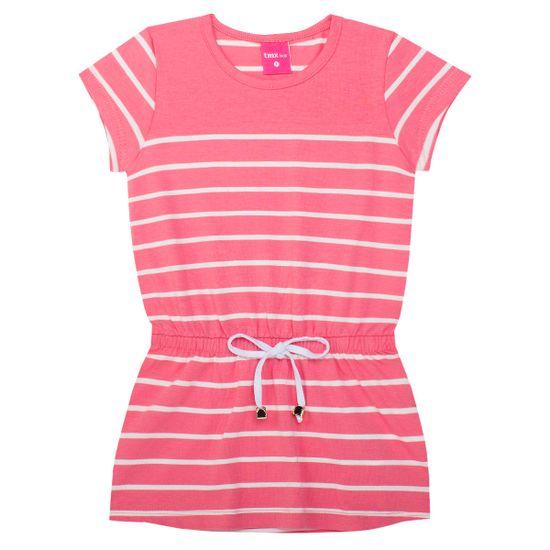 TMX1158-GO_A-moda-menina-vestido-listrado-cotton-coral-tmx-no-bebefacil-loja-de-roupas-enxoval-e-acessorios-para-bebes