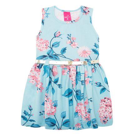 TMX1159-AZ_A-moda-menina-vestido-cinto-em-cotton-floral-tmx-no-bebefacil-loja-de-roupas-enxoval-e-acessorios-para-bebes