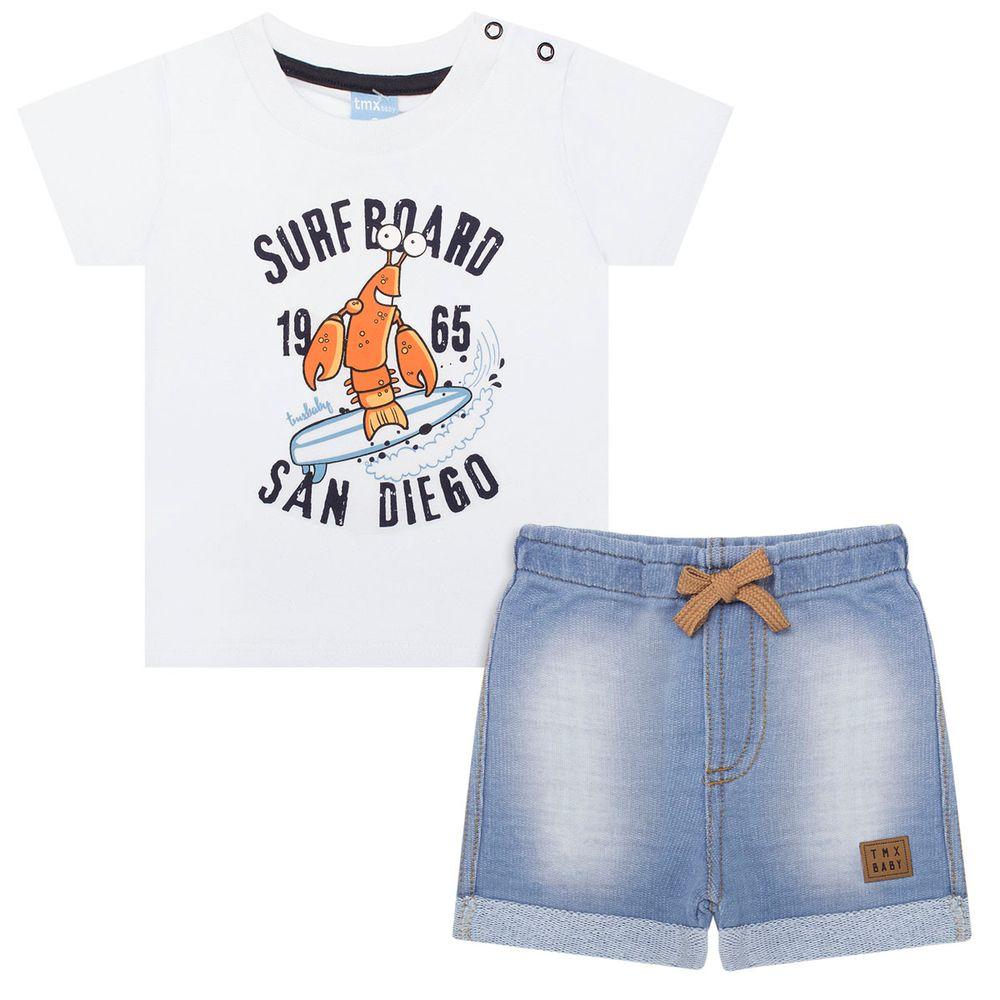 TMX4028-BR_A-moda-bebe-menino-conjunto-camiseta-bermuda-moletom-fleece-surf-board-tmx-no-bebefacil-loja-de-roupas-enxoval-e-acessorios-para-bebes