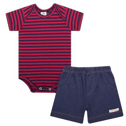 PB9358_A-moda-bebe-conjunto-body-e-short-em-suedine-listrado-vermelho-marinho-piu-blu-no-bebefacil-loja-de-roupas-enxoval-e-acessorios-para-bebes