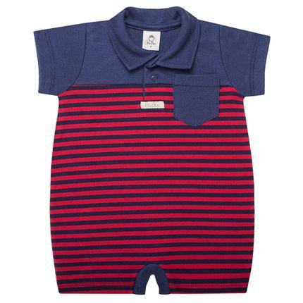 PB3358_A-moda-bebe-menino-macacao-gola-polo-curto-em-suedine-listrado-vermelho-piu-blu-no-bebefacil-loja-de-roupas-enxoval-e-acessorios-para-bebes