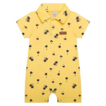 PL66125-AM_A-moda-bebe-menino-macacao-polo-suedine-coconut-pingo-lele-no-bebefacil-loja-de-roupas-enxoval-e-acessorios-para-bebes