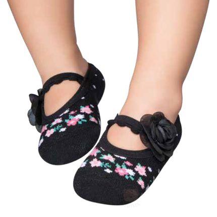 PK7033-PT_A--moda-bebe-menina-meia-sapatilha-preta-floral-puket-no-bebefacil-loja-de-roupas-enxoval-e-acessorios-para-bebes