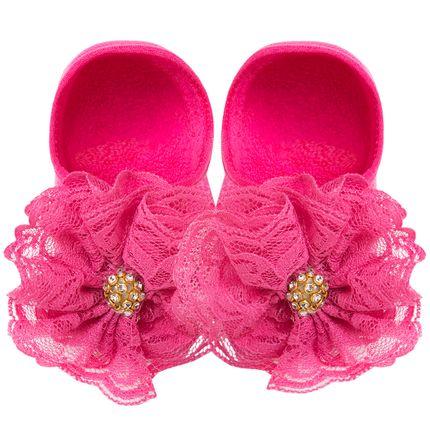 LK079.422_A-moda-bebe-menina-meia-sapatilha-flor-renda-strass-pink-leke-no-bebefacil-loja-de-roupas-enxoval-e-acessorios-para-bebes