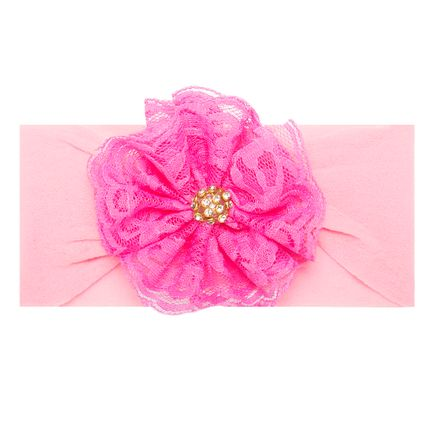 LK813.420_A-moda-bebe-menina-acessorios-faixa-de-cabelo-meia-flor-renda-strass-pink-leke-no-bebefacil-loja-de-roupas-enxoval-e-acessorios-para-bebes
