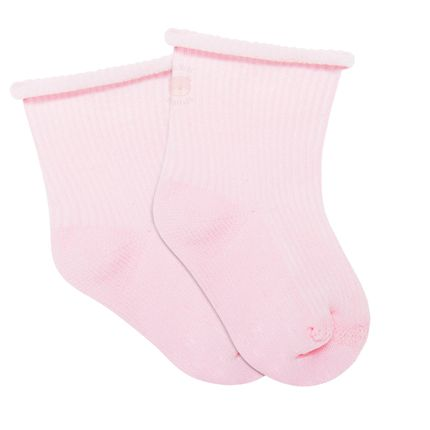 LK040.437-03_A-moda-bebe-menina-acessorios-meia-soquete-sem-punho-recem-nascido-rosa-leke-no-bebefacil-loja-de-roupas-enxoval-para-bebes