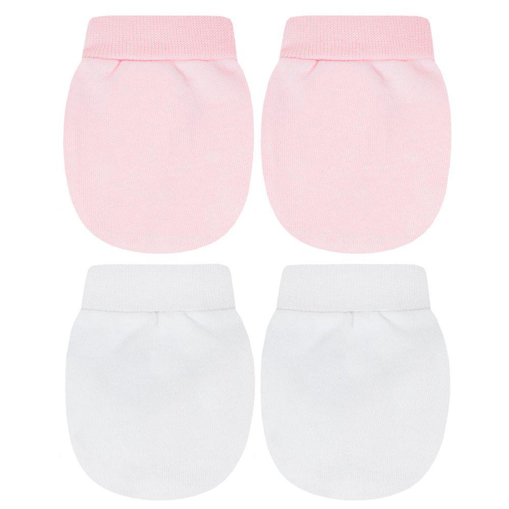 TB13118-10_A-moda-bebe-menina-acessorios-kit-2-luvas-em-suedine-rosa-branca-tilly-baby-no-bebefacil-loja-de-roupas-enxoval-e-acessorios-para-bebes