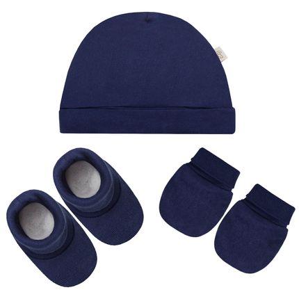 23b440844b Touca luva e sapatinhos acessórios para manter o bebê protegido jpg 430x430 Kit  sapatinho bebe menino