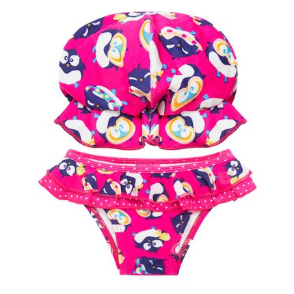 PK110200002_A-moda-praia-bebe-menina-conjunto-de-banho-calcinha-chapeu-em-lycra-pinguinzinha-puket-no-bebefacil-loja-de-roupas-enxoval-e-acessorios-para-bebes