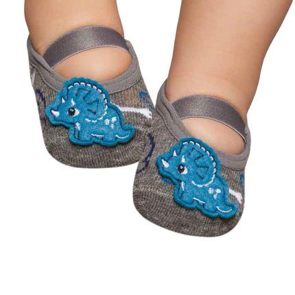 PK6939D-ME_A-moda-bebe-menino-acessorios-meia-sapatilha-baby-dino-puket-no-bebefacil-loja-de-roupas-enxoval-e-acessorios-para-bebes