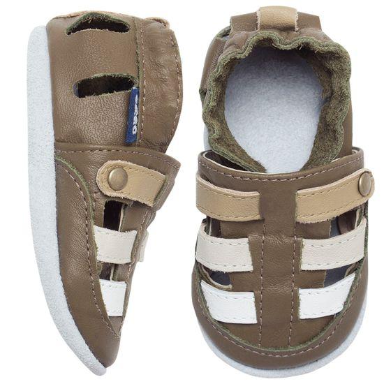 BABO66_A-sapatinho-bebe-menino-sandalia-franciscana-oliva-babo-uabu-no-bebefacil-loja-de-roupas-enxoval-e-acessorios-para-bebes