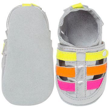 BABO67_B-sapatinho-bebe-menina-sandalia-franciscana-metalizada-neon-babo-uabu-no-bebefacil-loja-de-roupas-enxoval-e-acessorios-para-bebes