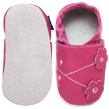 BABO68_B-sapatinho-bebe-menina-flor-do-campo-pink-babo-uabu-no-bebefacil-loja-de-roupas-enxoval-e-acessorios-para-bebes