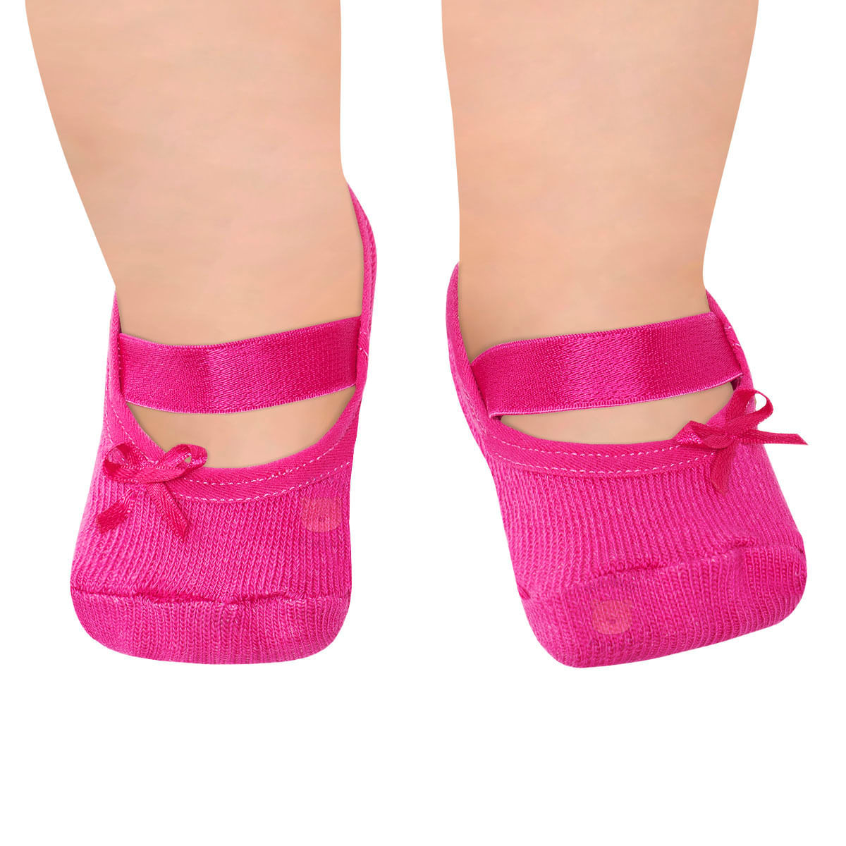 2f88c8df3b Meia Sapatilha para bebê Pink - Puket no Bebefacil