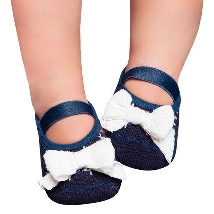 PK7033-ML_A-moda-bebe-menina-acessorios-meia--sapatilha-lacao-cream-puket-no-bebefacil-loja-de-roupas-enxoval-e-acessorios-para-bebes