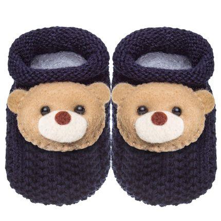 01436007008_A-moda-bebe-menino-acessorios-sapatinho-tricot-ursinho-marinho-roana-no-bebefacil-loja-de-roupas-enxoval-e-acessoroios-para-bebes