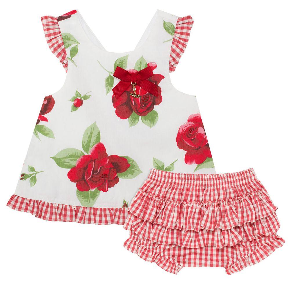 0501256d9 Bata c  Calcinha para bebê Roses - Roana no bebefacil loja de roupas  enxoval e acessorios para bebes - bebefacil
