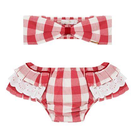 4136021796_A-moda-praia-conjunto-de-banho-calcinha-babadinhos-turbante-tricoline-vichy-roana-no-bebefacil-loja-de-roupas-enxoval-e-acessorios-para-bebes