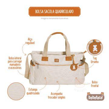 MB51MBQ371.05-B-Bolsa-Sacola-para-bebe-Quadriculado-Marfim---MB-Baby