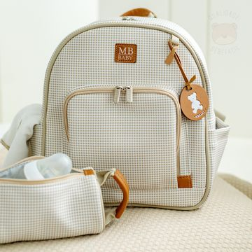 MB51MBQ373.05-D-Mochila-Maternidade-Quadriculado-Marfim---MB-Baby