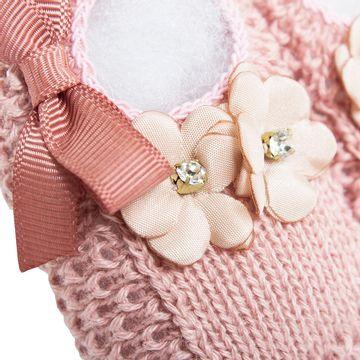 01436013032_B-moda-bebe-menina-sapatinho-tricot-flores-laco-rose-roana-no-bebefacil-loja-de-roupas-enxoval-e-acessorios-para-bebes