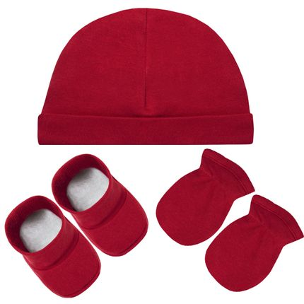 A2032-VR_A-moda-bebe-menino-menina-acessorios-kit-touca-luva-sapatinho-suedine-vermelho-hug-no-bebefacil-loja-de-roupas-enxoval-e-acessorios-para-bebes
