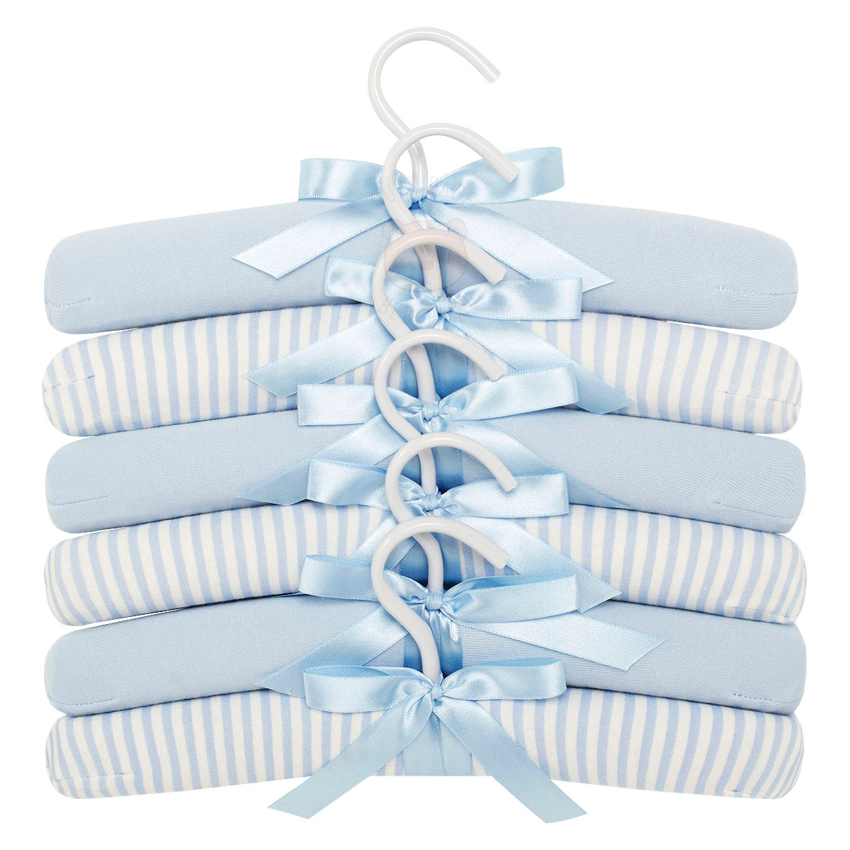 376a34cd56 Kit 6 Cabides em malha Little Dreamer Azul- Hug