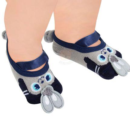 PK6939D-CZ_D-moda-bebe-menino-meia-sapatilha-coelhinho-puket-no-bebefacil-loja-de-roupas-enxoval-e-acessorios-para-bebes