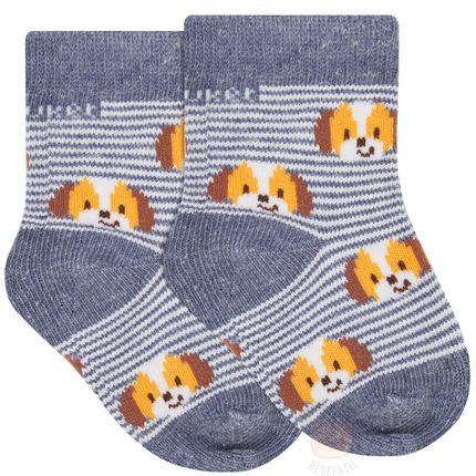 PK6902D-AJ_A-moda-bebe-menino-acessorios-meia-soquete-cachorrinho-puket-no-bebefacil-loja-de-roupas-enxoval-e-acessorios-para-bebes