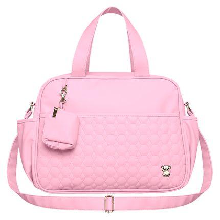 BNLM9024-A-Bolsa-Maternidade-para-bebe-Luiza-M-Petit-Premium-Rosa---Classic-for-Baby-Bags