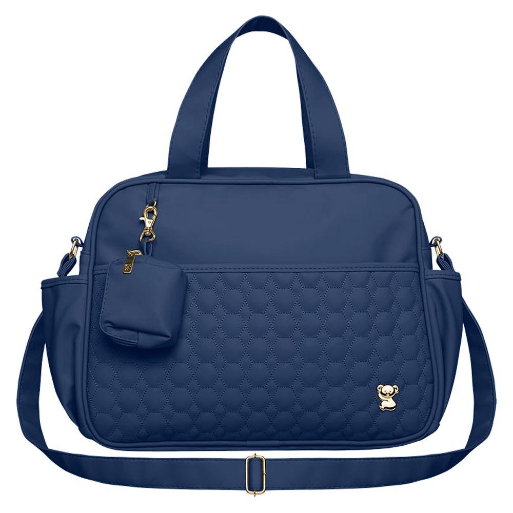BNLM9043-A-Bolsa-Maternidade-para-bebe-Luiza-M-Petit-Premium-Marinho---Classic-for-Baby-Bags