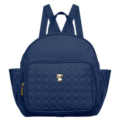 MNP9043-A-Mochila-Maternidade-Petit-Premium-Marinho---Classic-for-Baby-Bags
