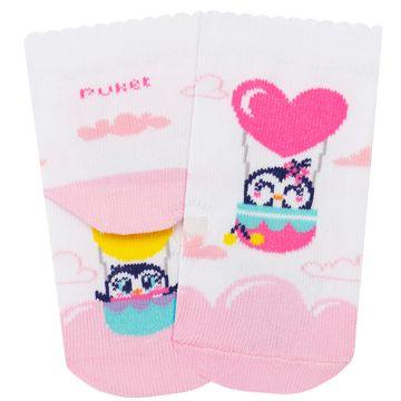 PK7063-PG_F-moda-bebe-menina-acessorios-kit-tripack-3-meias-pinguinzinha-puket-no-bebefacil-loja-de-roupas-enxoval-e-acessorios-para-bebes