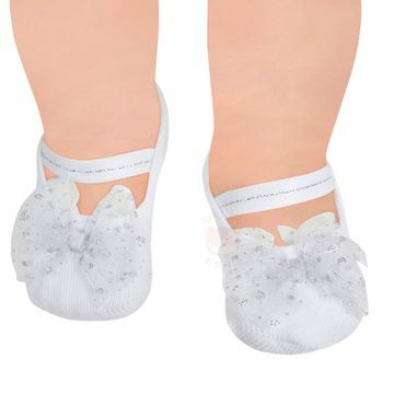 PK9033L-BR_D-moda-bebe-menina-acessorios-meia-sapatilha-laco-gliter-branca-puket-no-bebefacil-loja-de-roupas-enxoval-e-acessorios-para-bebes