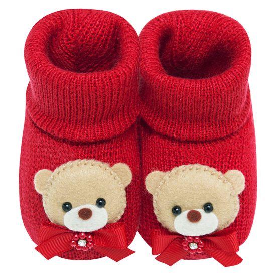 01437016_A-sapatinho-bebe-menina-botinha-tricot-ursinha-vermelha-roana-no-bebefacil-loja-de-roupas-enxoval-e-acessorios-para-bebes