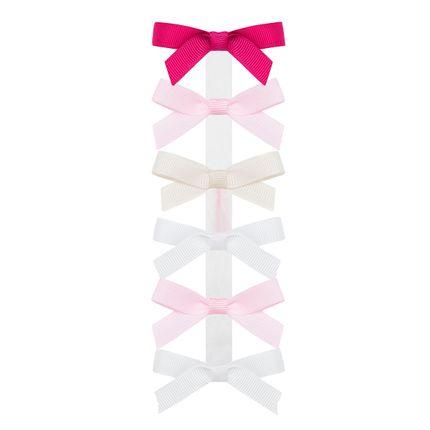 00317002280_A-moda-bebe-menina-acessorios-kit-6-lacos-cetim-pink-rosa-marfim-branco-roana-no-bebefacil-loja-de-roupas-enxoval-e-acessorios-para-bebes