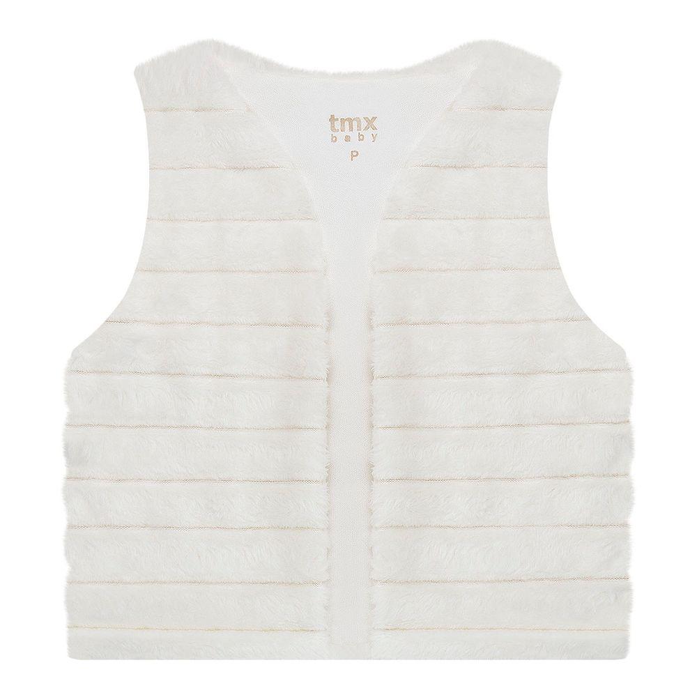 TMX1180-MF_A-moda-bebe-menina-colete-pelo-marfim-tmx-no-bebefacil-loja-de-roupas-enxoval-e-acessorios-para-bebes
