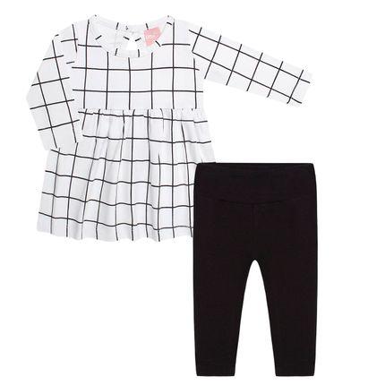 TMX0046_A-moda-bebe-menina-conjunto-bata-legging-cotton-quadrix-tmx-no-bebefacil-loja-de-roupas-enxoval-e-acessorios-para-bebes