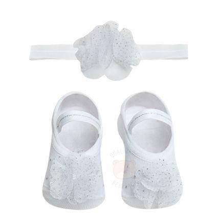 PK6934L-FG-moda-bebe-menina-kit-faixa-meia-sapatilha-flor-gliter-branca-puket-no-bebefacil-loja-de-roupas-enxoval-e-acessorios-para-bebes