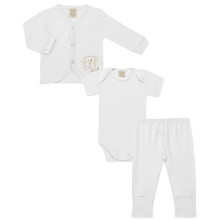 PL65455.BR_A-moda-bebe-menino-menina-conjunto-pagao-casaquinho-body-curto-calca-mijao-branco-Pingo-Lele