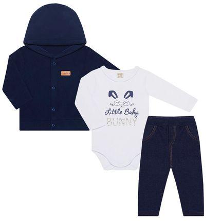 PL66239_A-moda-bebe-menino-conjunto-casaco-capuz-body-longo-calca-fleece-suedine-bunny-pingo-lele-no-bebefacil-loja-de-roupas-enxoval-e-acessorios-para-bebes
