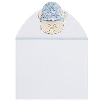 TFFA4798_A-enxoval-e-maternidade-bebe-menino-toalha-banho-forro-fralda-pinguinzinho-petit-no-bebefacil-loja-de-roupas-enxoval-e-acessorios-para-bebes