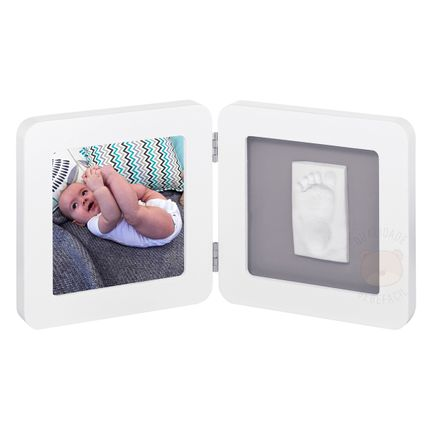 34120050-A-Porta-retrato-com-molde-My-Baby-Touch-White---Grey---Baby-Art
