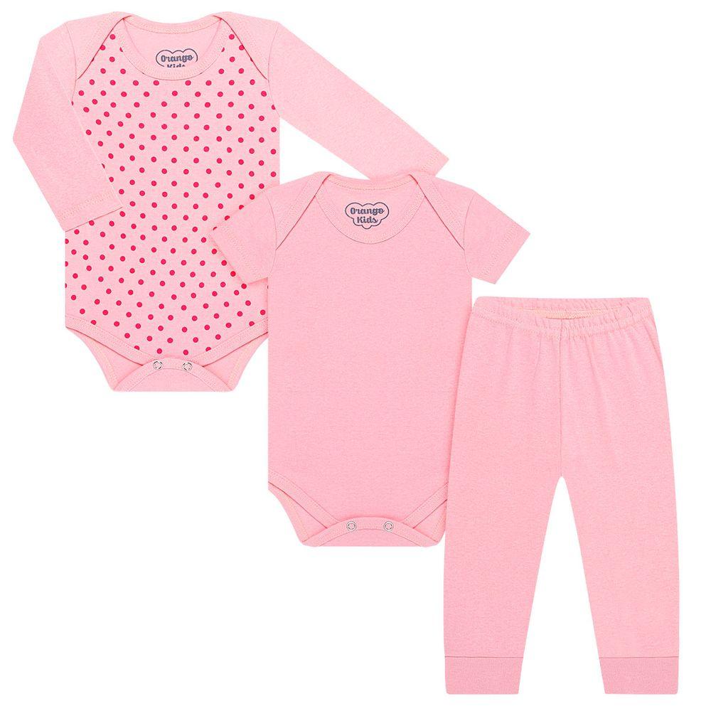 ORA-10_A-moda-bebe-menina-kit-body-e-calca-mijao-em-suedine-poa-rosa-orango-kids-no-bebefacil-loja-de-roupas-enxoval-e-acessorios-para-bebes