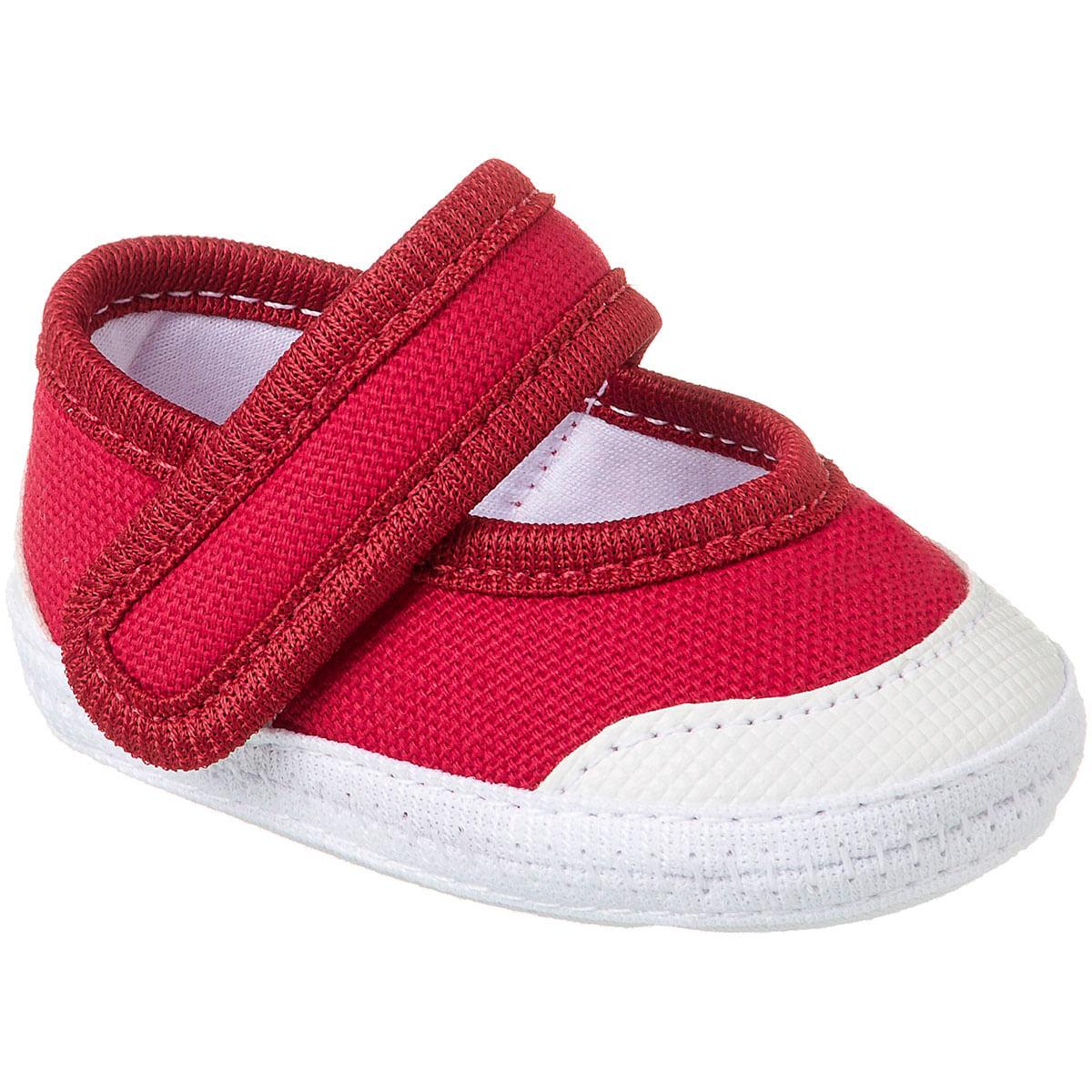 6b998dc71 Sapatilha para bebê Vermelho - Keto Baby - bebefacil